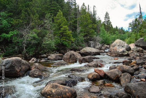 Foto op Aluminium Rivier Wyoming River