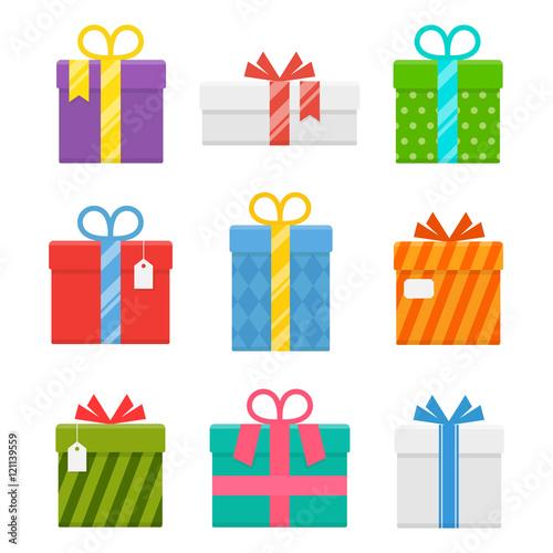 Fotografija Gift or present box