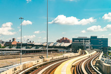 AirTrain JFK Is A 3-line, 8.1 Miles Long Elevated Railway Providing Service To Kennedy International Airport