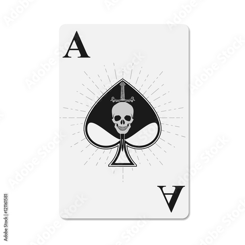 Photo Cover for the deck of poker cards