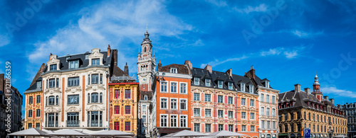 Valokuva Panorama du vieux Lille