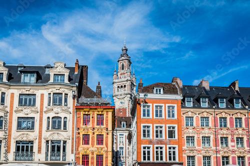 Foto Le beffroi de la chambre du commerce et d'industrie de Lille