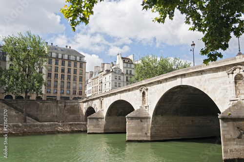 Pont Marie over the seine river in the center of Paris