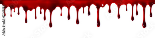 Stampa su Tela Dripping blood banner
