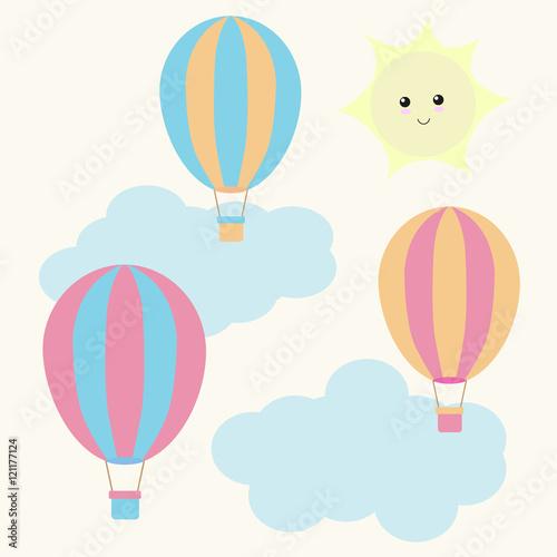 View Hot Air Balloon Wallpaper Nursery Wallpapers
