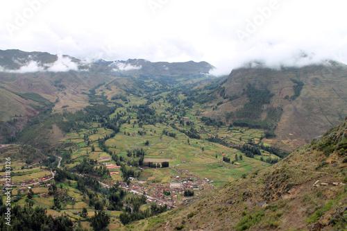 Fotografie, Obraz  Valley in Peru