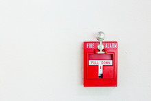 Red Fire Alarm Switch With Pul...