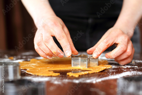 Fototapeta Domowe ciastka. Świąteczne domowe wypieki. obraz