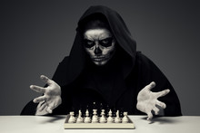 """Concept """"Playing With Death""""."""