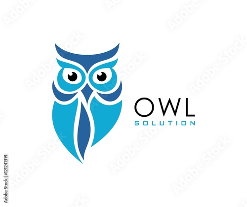 Photo Stands Owls cartoon Owl logo