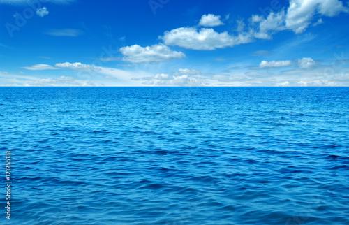 Plakat Błękitna woda morska