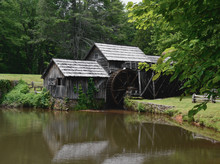 Mabry Mill At Blue Ridge Parkw...