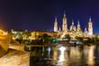 Zaragoza in summer, Spain