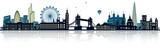 Fototapeta Londyn - London Skyline