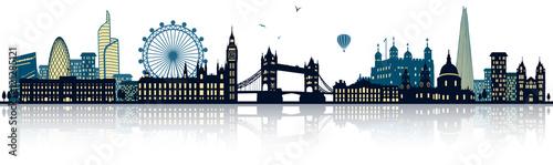 Obraz na płótnie London Skyline