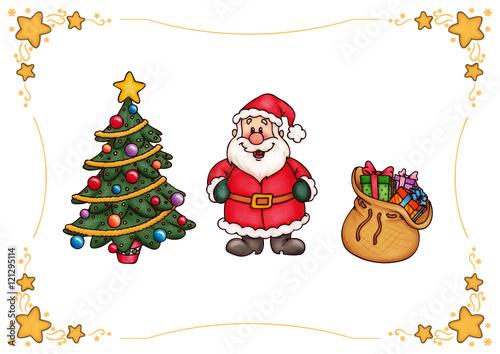 weihnachten weihnachtsbaum weihnachtsmann geschenke. Black Bedroom Furniture Sets. Home Design Ideas