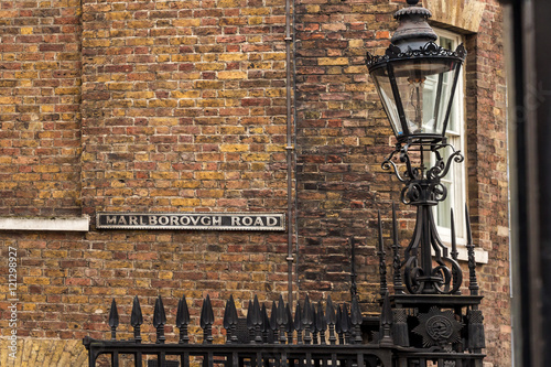 Photo  Street name plate, London