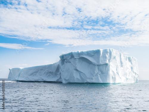 Large iceberg in June run aground near St. Anthony's Newfoundland Wallpaper Mural