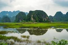 Van Long Natural Reserve In Ninh Binh Vietnam