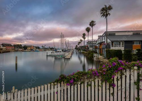 Fotografia  Channel Islands Harbor in Oxnard, California