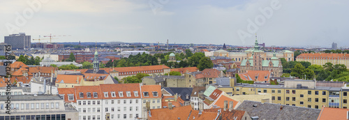 Superb aerial view from Round Tower Wallpaper Mural