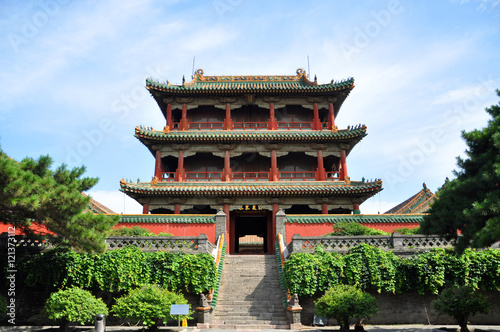 Photo  Shenyang Imperial Palace (Mukden Palace) Phoenix Tower (Fenghuang Tower), Shenyang, Liaoning Province, China