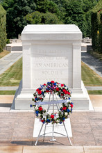 The Tomb Of The Unknown Soldier At Arlington National Cemetery