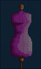 Mosaic Women's Mannequin
