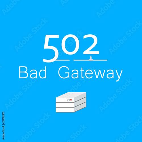 bad gateway connection azure