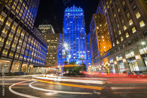 Night life in New York City
