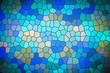 Leinwanddruck Bild - stained Glass