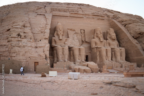 Tuinposter Egypte The Great Temple of Ramesses II