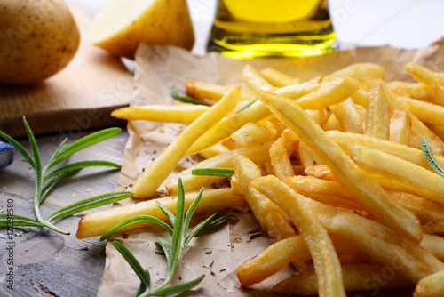 Chips, French fries Poster