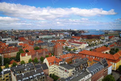 In de dag Scandinavië Copenhagen, Denmark