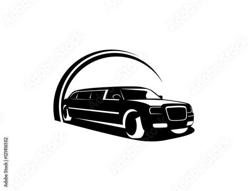Limousine logo Tableau sur Toile