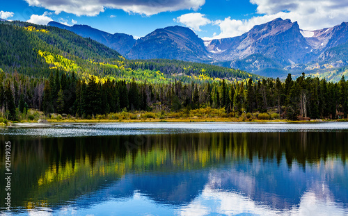 Sprague Lake in Rocky Mountain National Park Colorado