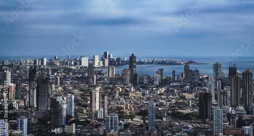 Fototapeta premium MUMBAJ AERIAL VIEW / INDIE