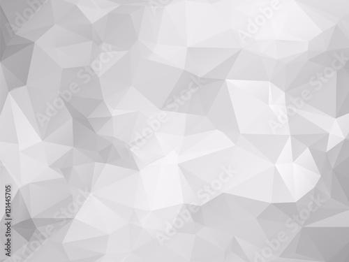 Plakaty szary wzór z efektem trójwymiarowości