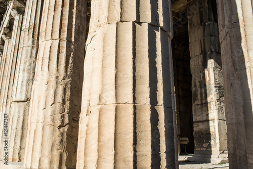 Photo  temple of Hephaestus in Ancient Agora, Athens