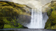 Giant Skogafoss Waterfall