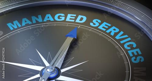 Obraz na plátně managed services