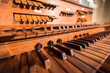 canvas print picture - Pipe Organ 1