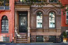 An Ornate Brownstone Building