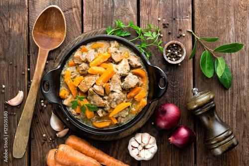 Fotografie, Obraz  meat stew
