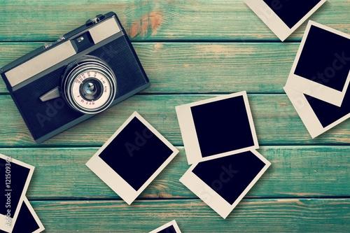 Fotografie, Obraz  Polaroids.
