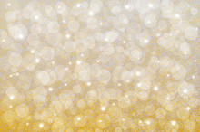 Yellow Abstract Background Wit...