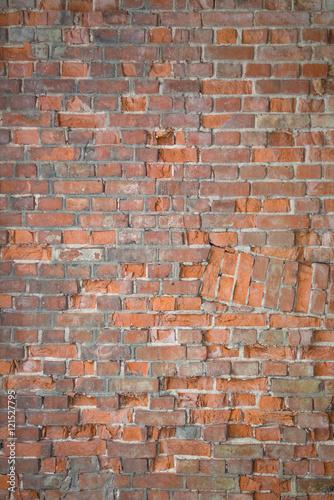 Poster Baksteen muur Brick wall texture