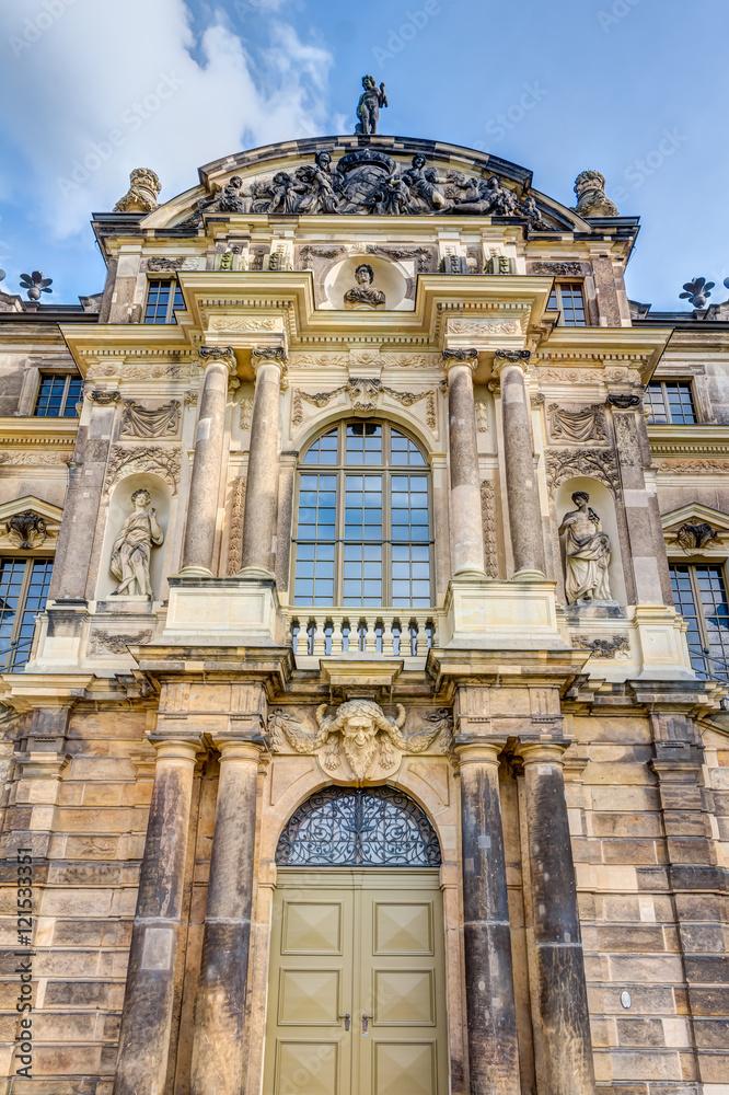 Gamesageddon Stock Palais Im Grossen Garten Dresden Detailaufnahme