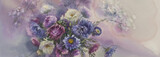 Asters watercolor - 121539761