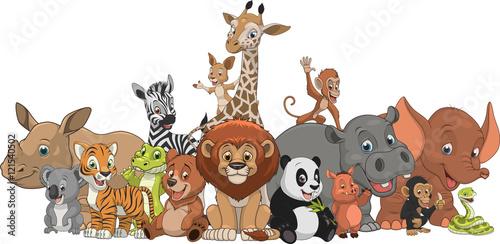 Photo Funny kids animals